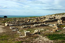 Ruins of a residential quarter - Heraclea Minoa - Italy 2015.JPG