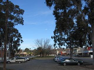 Rushworth, Victoria Town in Victoria, Australia