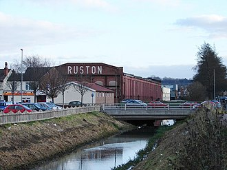 Ruston (engine builder) - Former works off Tritton Road