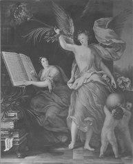 Ryktet och Historien förkunnar Karl XI:s bedrifter