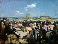 SIMON Lucien 1898c Les lutteurs à main plate, Penmarc'h.jpg