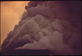 SMOKE FROM ARMCO STEEL ON A SUNDAY AFTERNOON - NARA - 545916.jpg