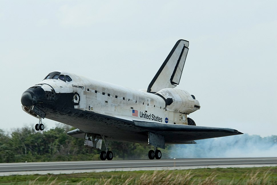 STS-119 Discovery landing01