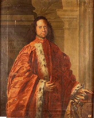 Sebastiano Bombelli - Image: S Bombelli Retrato del Senador Francesco Cantareno M Chambéry