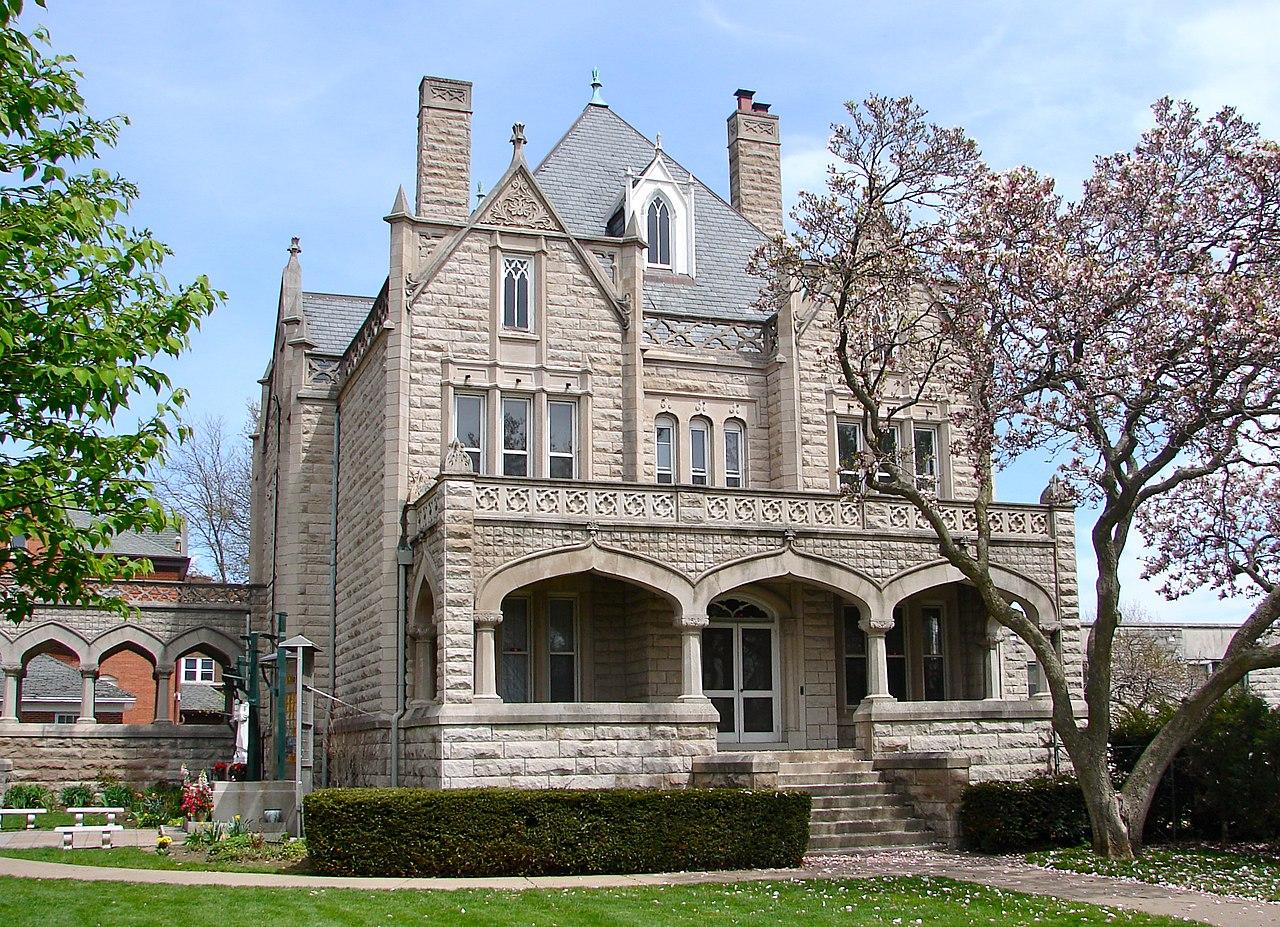 Victorian Mansion Floor Plan File Sacred Heart Rectory Davenport Ia Jpg Wikimedia Commons