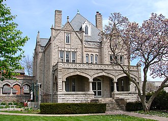 Sacred Heart Cathedral (Davenport, Iowa) - Sacred Heart Rectory