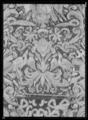 Sadeltäcke ur en serie av sex (6042-6047) tillhörande drottning Kristinas kröningskaross med trofémotiv - Livrustkammaren - 27678.tif