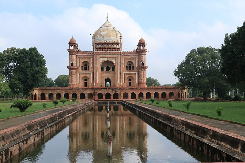 Bilal Muhammad Khan (Ethiopian), Tomb of Safdarjang, 1754–1774, Delhi, India.