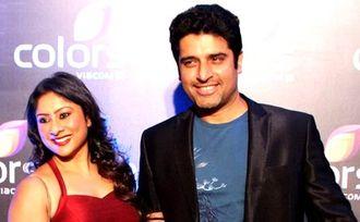 Sai Deodhar - Sai with her Husband Shakti Anand at an event