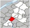 Saint-Basile-le-Grand Quebec location diagram.PNG