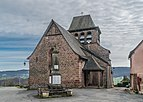 Saint Hilary Church of Pruines 01.jpg