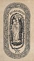 Saint Mary (the Blessed Virgin) with the Christ Child. Woodc Wellcome V0033749.jpg