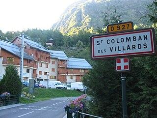 Saint-Colomban-des-Villards Commune in Auvergne-Rhône-Alpes, France