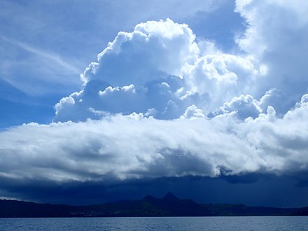 Southeast African moonsoon clouds, over Mayotte island. Saison des pluies a Mayotte.jpg