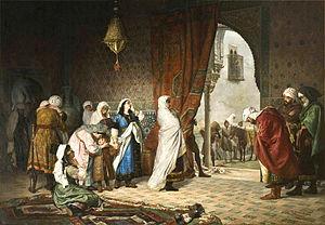 Manuel Gómez-Moreno González - The Family of Boabdil Leaving the Alhambra