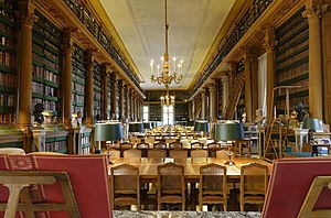 Bibliothèque Mazarine - Reading room of the Bibliothèque Mazarine