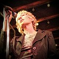 Sally Timms performing with the Mekons at the Hideout, Chicago, IL on 2015.07.13.jpg