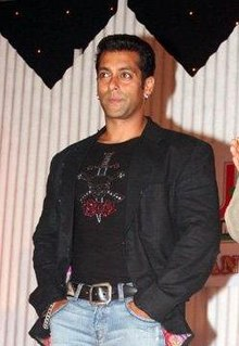 Photograph of Salman Khan