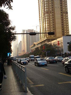 Shennan Road - Image: Samnaamdunglou