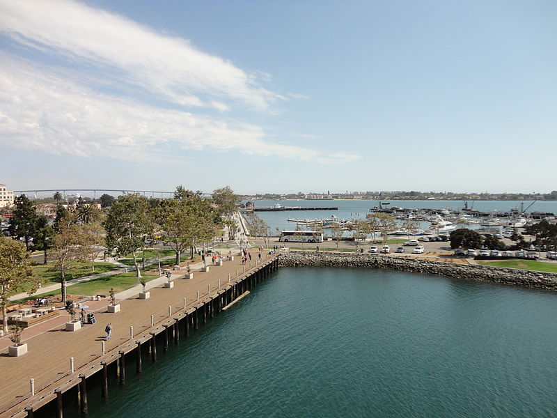 File:San Diego Bay from USS Midway 10 2013-08-23.jpg