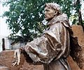 San Francesco d'Assisi - statua in bronzo.jpg