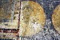 San crisogono, resti della basilica paleocristiana del V secolo, affreschi a clipei con santi dell'VIII secolo 02.jpg