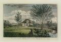 Sanderumgaard 10 of 12 Udsigt i Hauge koloreret 1803 Clemens.png