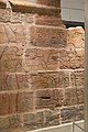 Sandstone wall of King Aspelta receiving life from god Amun-Re accompanied by goddess Mut, Temple T at Kawa.jpg