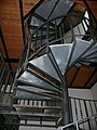 Saner Huette former melting-ofen, stairs.JPG
