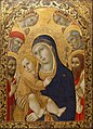 Sano di Pietro - Madonna and Child with Saints Jerome, John the Baptist, Bernardino and Bartholomew - Google Art Project.jpg