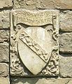 Santa croce, loggiato sud, esterno stemmi 10.JPG