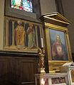 Santa maria del fiore, tribuna della santissima concezione, santi di Bicci di Lorenzo (1440) 02.JPG