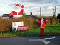 Santas at Sapcote - geograph.org.uk - 285044.jpg