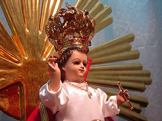 Holy Infant of Good Health statue said to possess miraculous powers