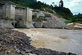 Belaga District - Bakun Dam.
