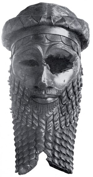 Reginald Campbell Thompson - Bronze head of an Akkadian king unearthed in Nineveh by Campbell Thompson's team