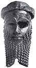 Bust believed to be that of Sargon of Akkad, Nineveh, c. 2300 BC.