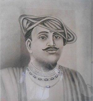 Maratha Navy - A portrait of Admiral Kanhoji Angre