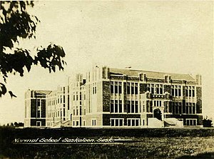 Saskatoon Teachers' College - Image: Saskatoon Normal School c 1930