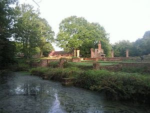 Francis Walsingham - Ruins of the Manor House at Scadbury: the Walsingham family seat