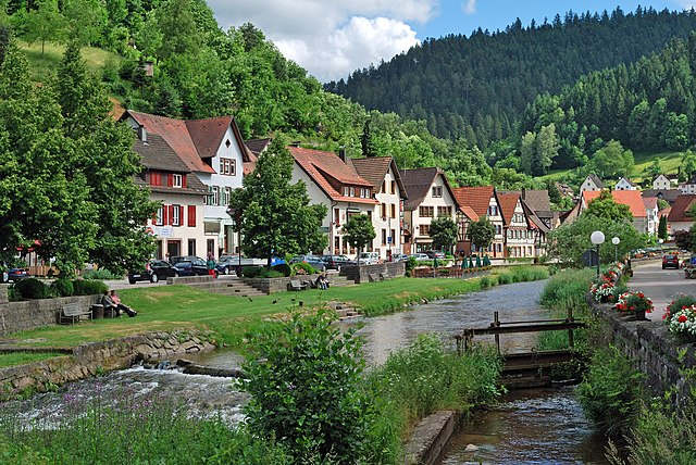 السياحية 640px-Schiltach_Ufer