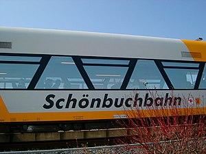 Holzgerlingen - Local Railway, the Schönbuchbahn