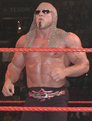 Scott Steiner - Steiner in WWE in 2003.