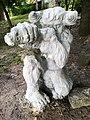 Sculpture in Wagrowiec (lake) (faun).jpg