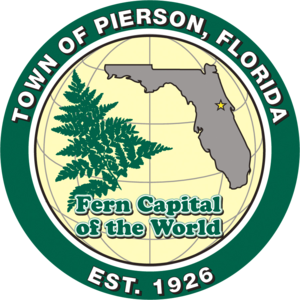 Pierson, Florida - Image: Seal of Pierson, Florida