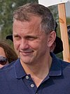 Sean Casten in an workers rally in October 2018 (cropped).jpg