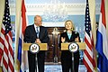 Secretary Clinton and Dutch Foreign Minister Rosenthal Hold a Joint Press Conference (5641466427).jpg