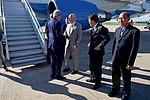 Secretary Kerry Bids Farewell to Members of a Receiving Line Including Ambassador Clune Before Departing from Wattay International Airport in Vientiane (27944095254).jpg