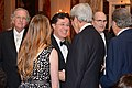 Secretary Kerry Chats With Stephen Colbert at the 2015 Kennedy Center Honors Dinner in Washington (23530429251).jpg