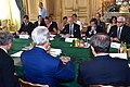 Secretary Kerry Sits With Fellow Foreign Ministers For Group Discussion in Paris About Cease-Fire in Gaza Strip (14562629907).jpg